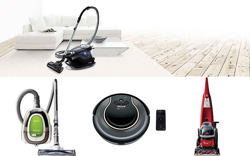 Up to 60% Off on Top Brand Vacuum Cleaners