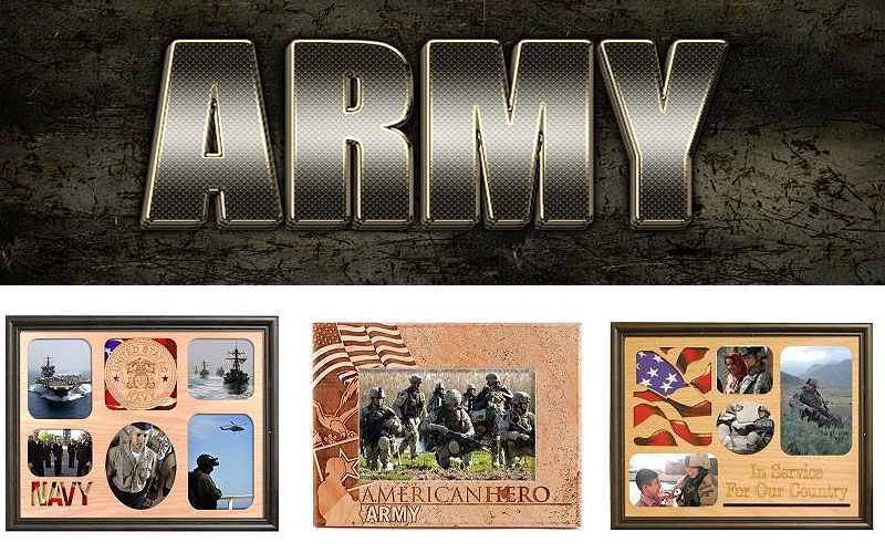 Armed Services Photo Frames on Sale Prices