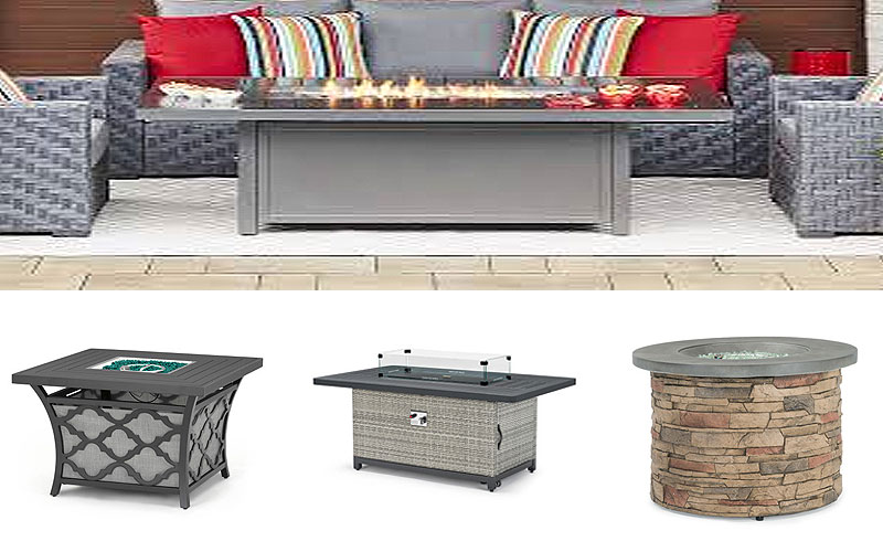 Outdoor Fire Table Sets at Discount Prices