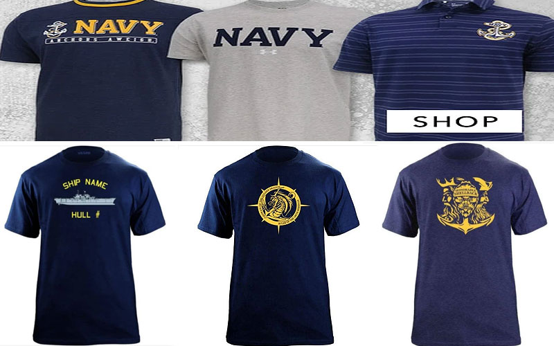 Men's Navy T-Shirts Online on Sale