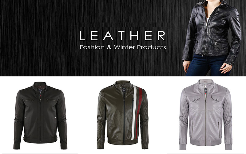 Up to 75% Off on Classic Leather Men's Jackets