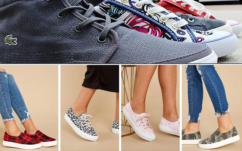 Women's Printed Sneaker Shoes on Sale