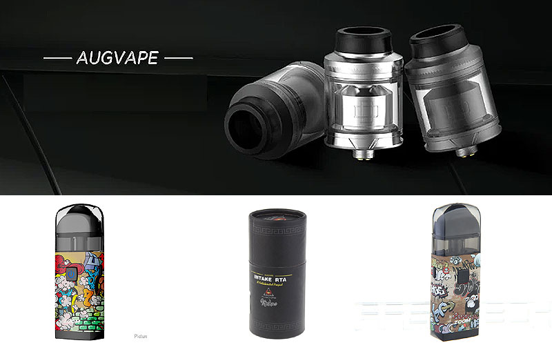 Up to 55% Off on Augvape E-Cigarettes & Accessories
