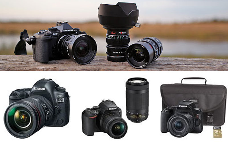 Up to 30% Off on Top Brand DSLR Cameras