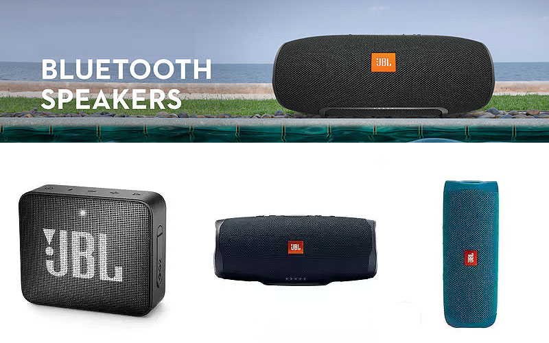 Up to 60% Off on JBL Bluetooth Speakers