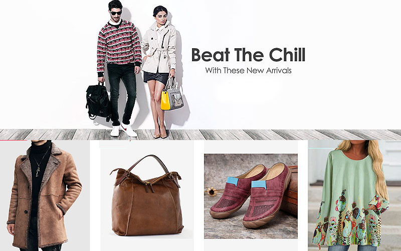 Up to 70% Off on Fashion Clothing & Accessories