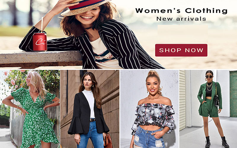 Up to 60% Off Women's Fashion Clothing