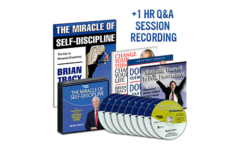 Brian Tracy The Miracle of Self Discipline Package