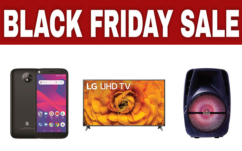 Black Friday 2020: Up to 65% Off on Electronics, Furniture & Household Items