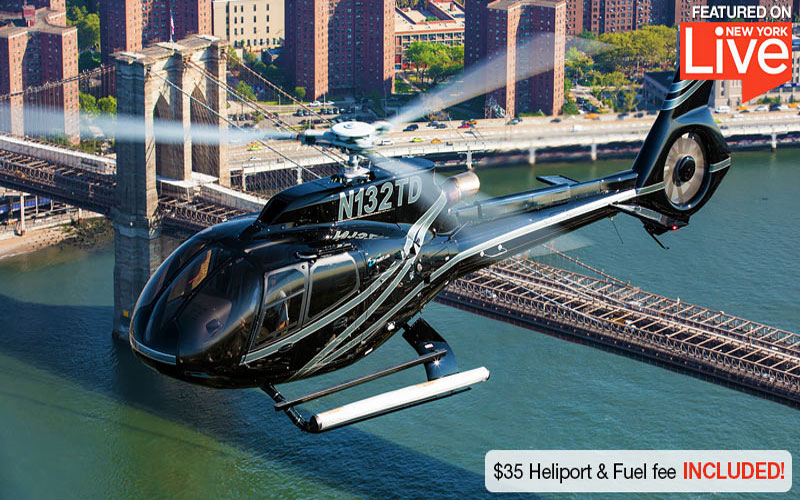 20 Minutes Helicopter Ride New York City