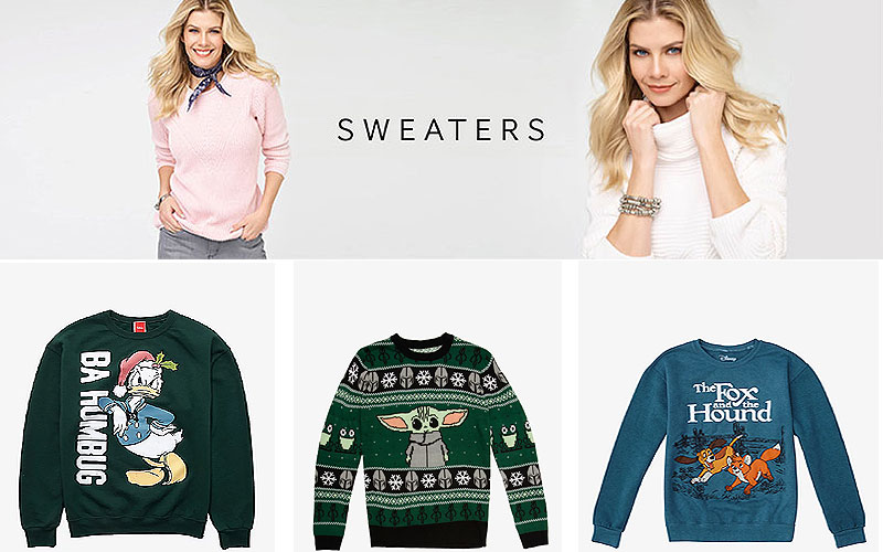 Up to 50% Off on Trendy Women's Sweaters