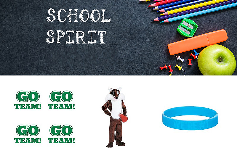 Up to 55% Off on School Spirit Products & Supplies