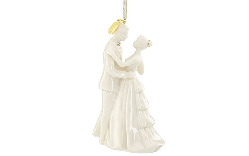Lenox 2019 Bride & Groom Ornament