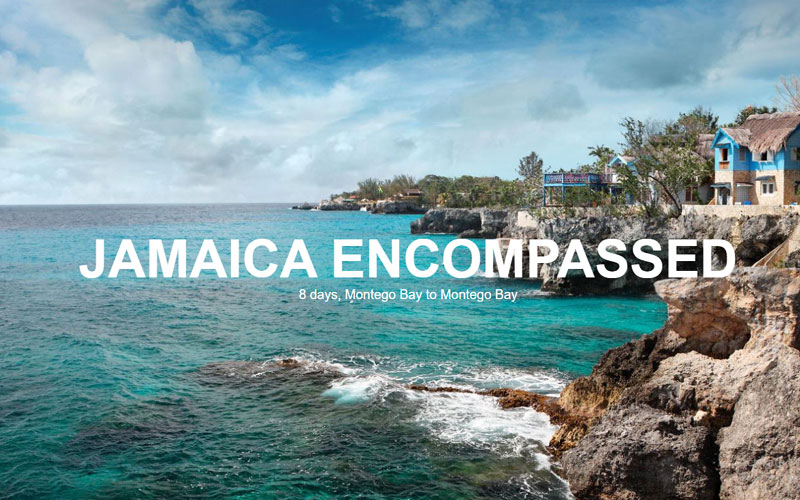 Jamaica Encompassed in Jamaica, Central America