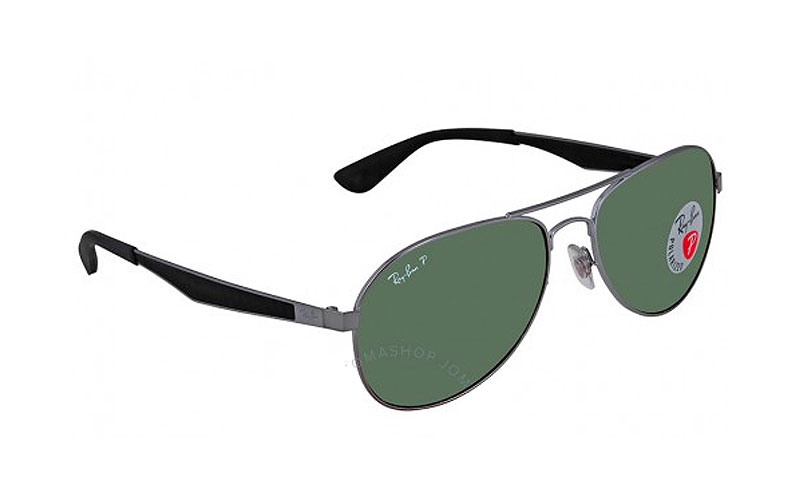 Ray-Ban Polarized Green Classic G-15 Aviator Sunglasses
