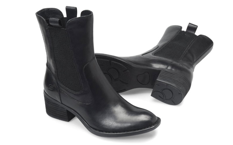 Women's Born Tenny Boots - Black