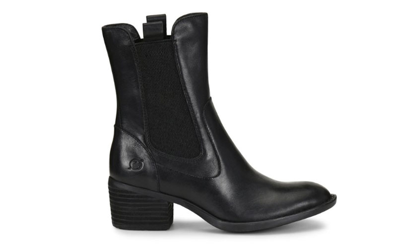 Women's Born Tenny Boots - Black Deals
