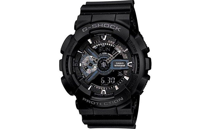 Casio G-Shock GA-110-1B Ana-digi World Time Watch