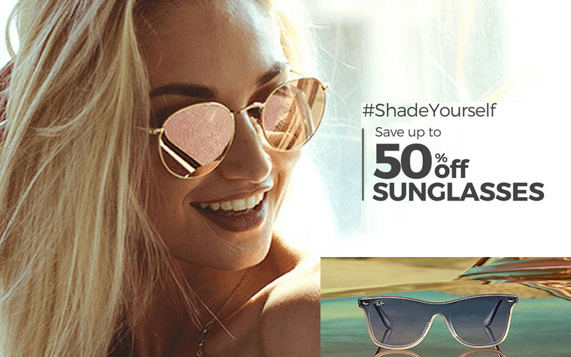 Up to 50% Off on Sunglasses Under $50