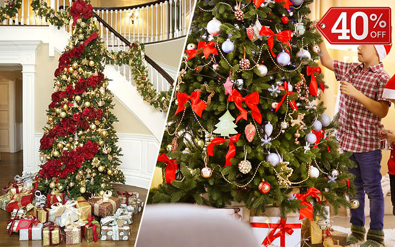 Up to 40% Off on Christmas Trees Under $100