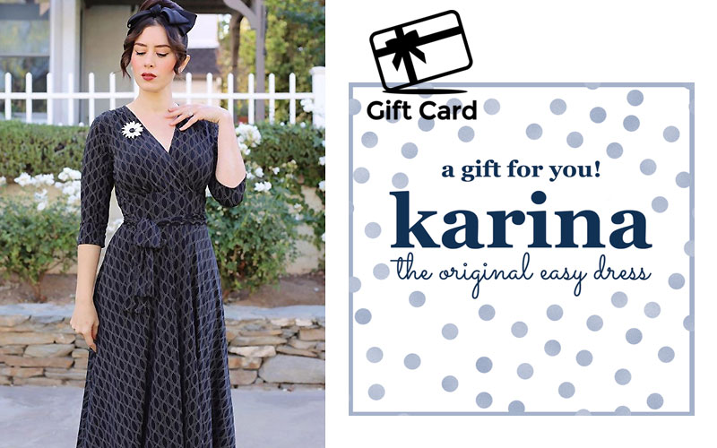Karina Dresses Gift Cards