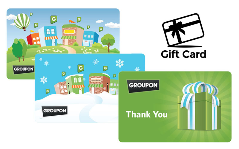 Groupon Gift Cards on Sale