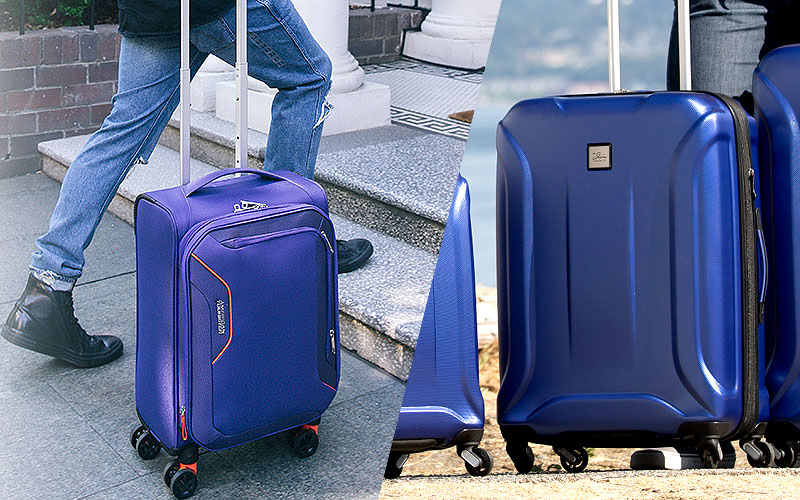 Up to 80% Off on Upright Suitcases Under $100