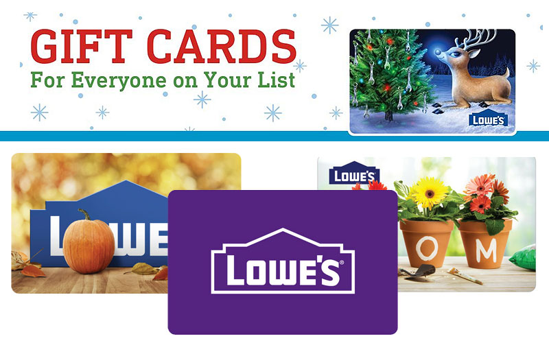 Lowe's Gift Cards for Sale