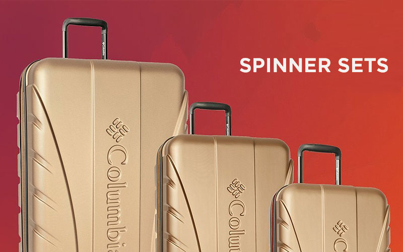 Up to 70% Off on Hardside Spinner Luggage Sets