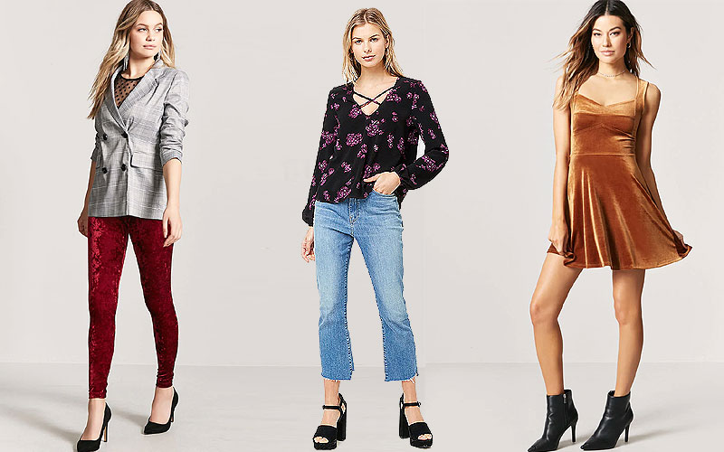 Up to 70% Off on Trendy Women's Clothing