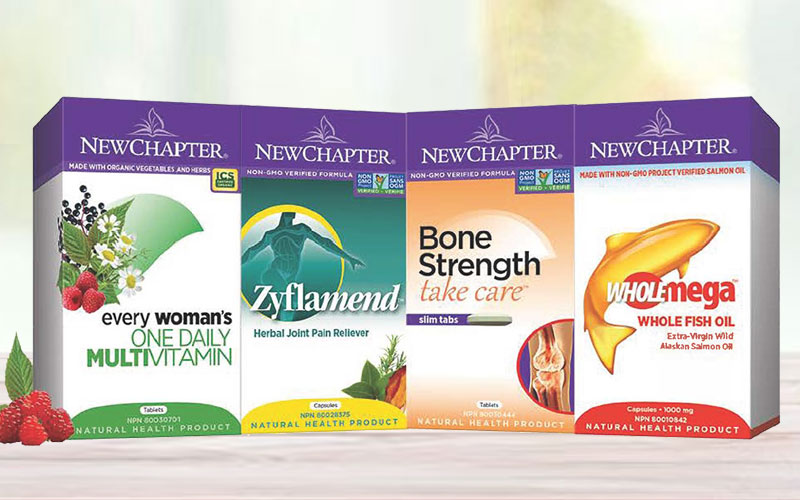Up to 20% Off on New Chapter Vitamins & Supplements