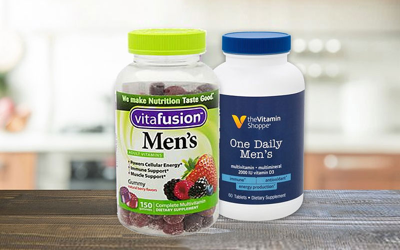 Up to 25% Off on Multivitamin for Men at Vitamin Shoppe