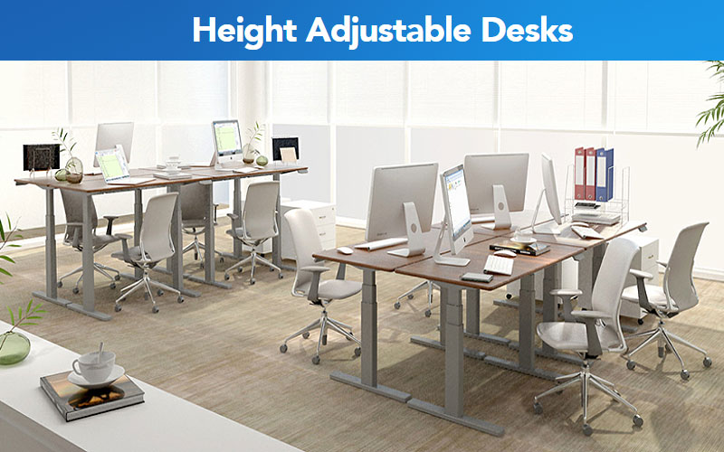 FlexiSpot Height Adjustable Desks