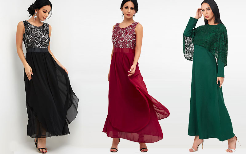 Up to 40% Off on Women's Maxi Dresses
