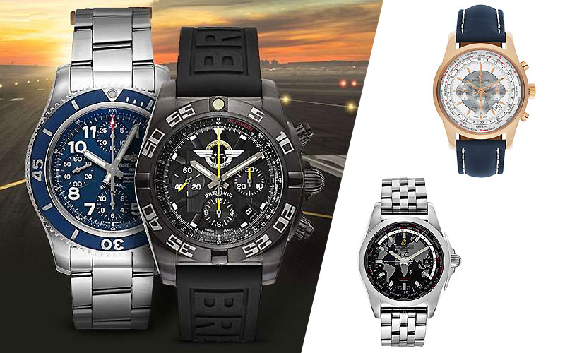 Up to 50% Off on Breitling Watches