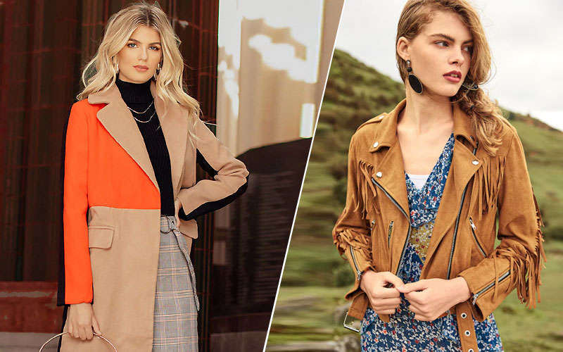 Up to 70% Off on Women's Coats & Jackets