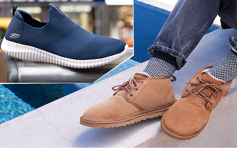 Up to 60% Off on Men's Shoes at The Walking Company