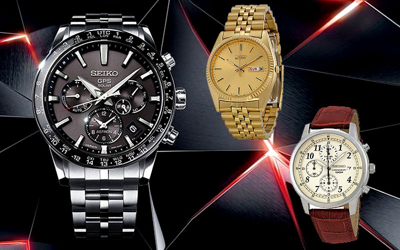 Up to 70% Off on Seiko Watches