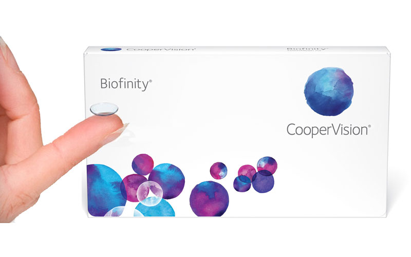 Up to 40% Off on Biofinity Contact Lenses
