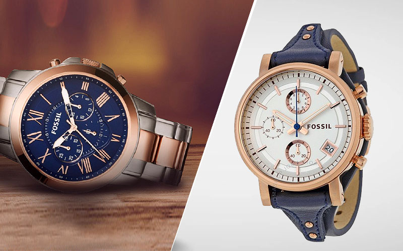 Up to 45% Off on Fossil Watches
