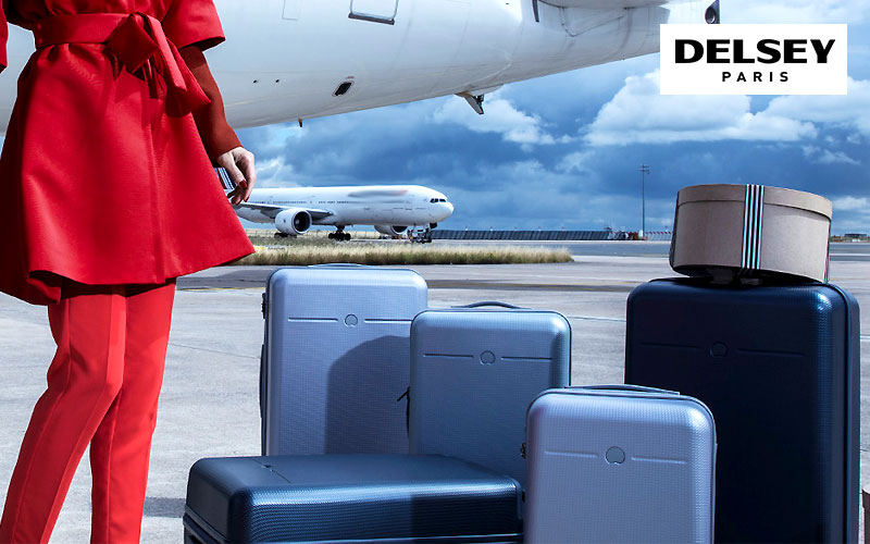 Up to 60% Off on Delsey Suitcases