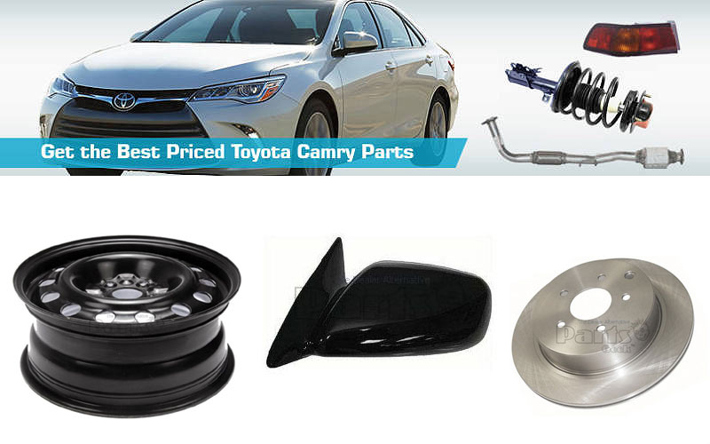 Up to 80% Off on Toyota Camry Parts
