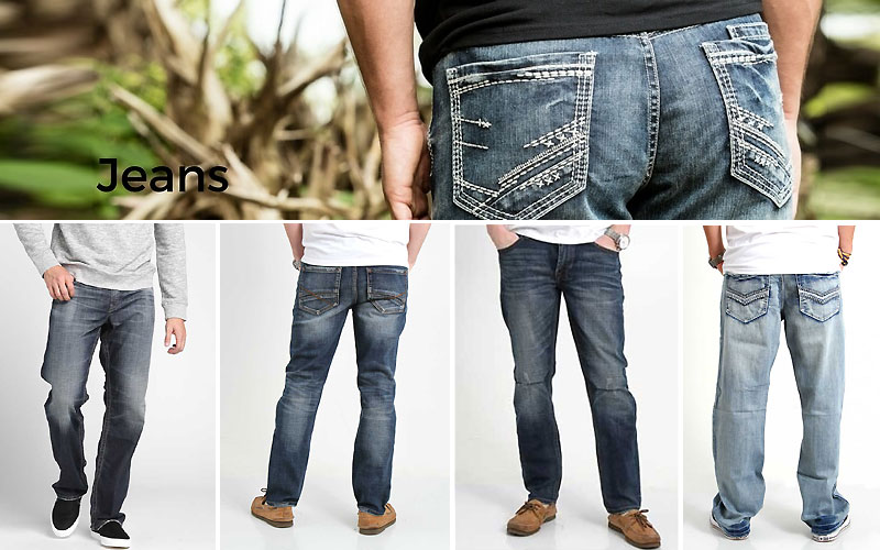 Up to 50% Off on Men's Jeans