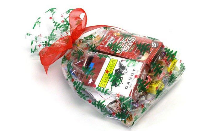 Party Favor Prepack - Green Christmas Trees