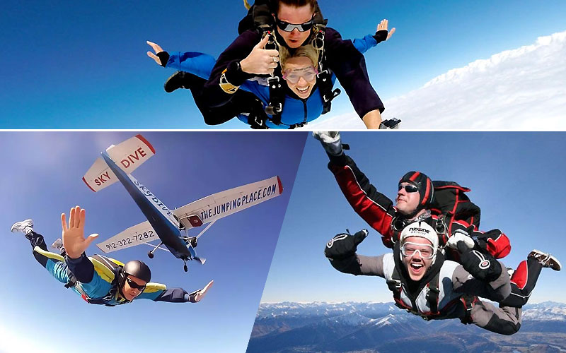 Up to $90 Off on Skydiving Experiences