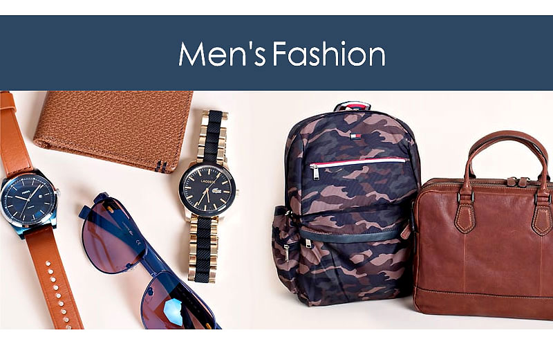 Up to 60% Off on Men's Fashion Bags & Accessories
