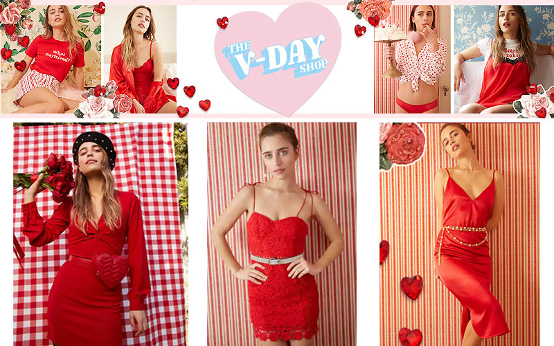 Free Shipping on Valentine's Day Dresses