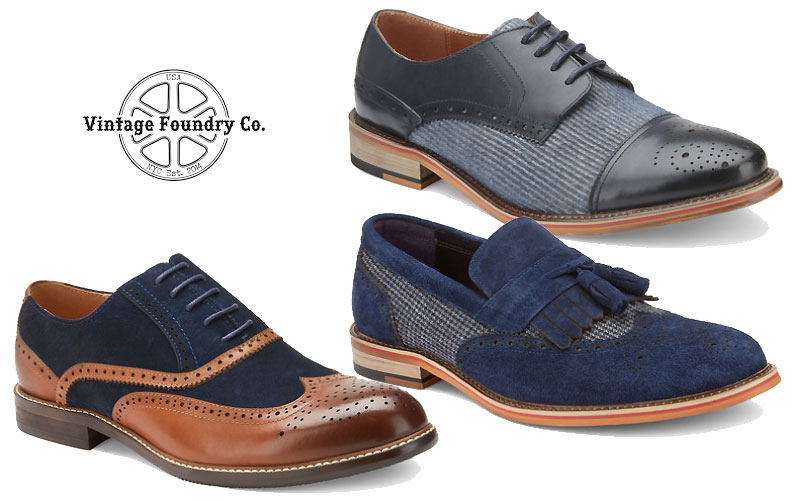 Up to 80% Off on Vintage Foundry Men's Shoes