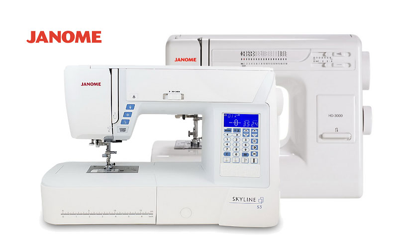 Up to 50% Off on Janome Sewing Machines
