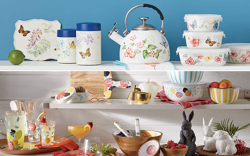 Up to 40% Off on Lenox Butterfly Meadow Kitchen Accessories